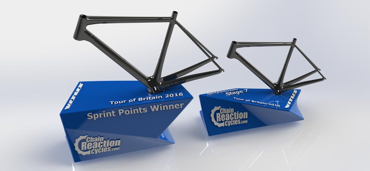 Chain Reaction Cycles Races to the Finish Line with 3D Printed Trophies for the Tour of Britain
