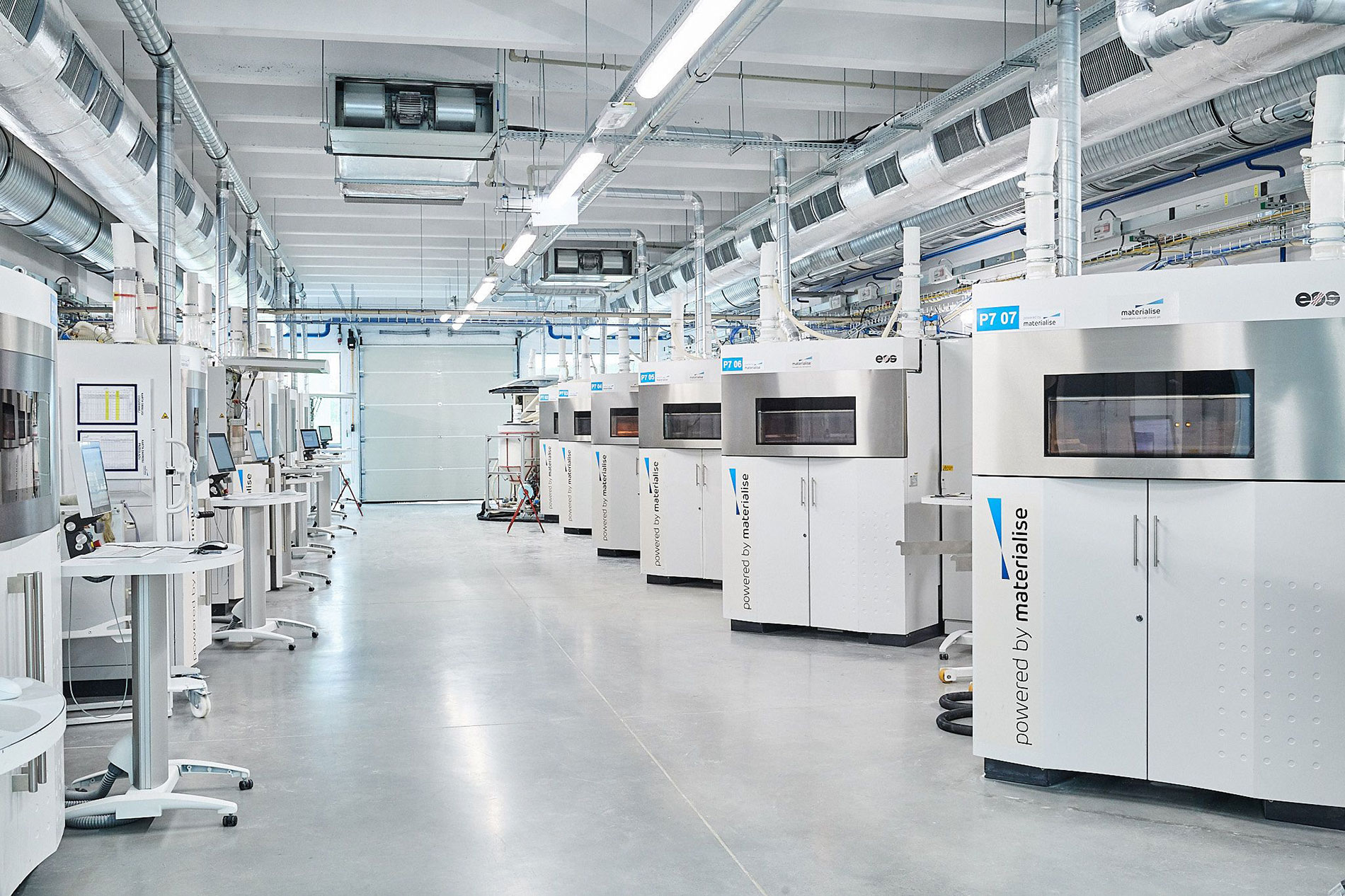 Materialise 3D printing facility