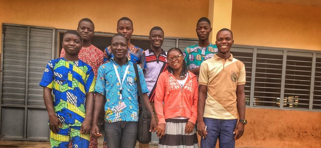Benin Summer School 2017: Electric Motorcycles, Healthy Eating and Solar Power