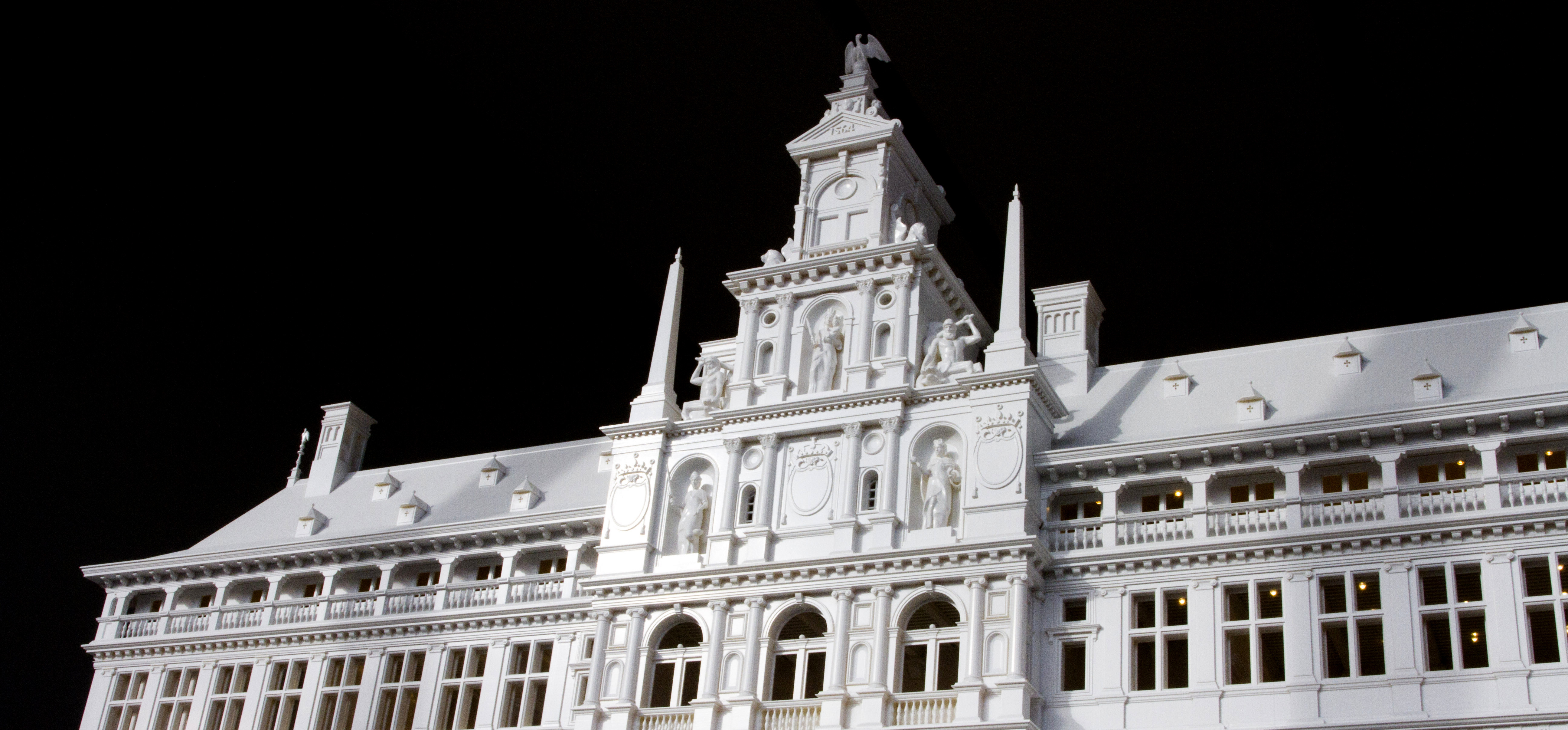 Visit the Miniature, 3D-Printed City Hall of Antwerp