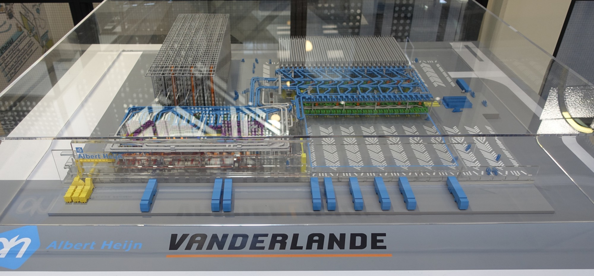 New Albert Heijn Distribution Center Represented by Giant 3D-Printed Scale Model