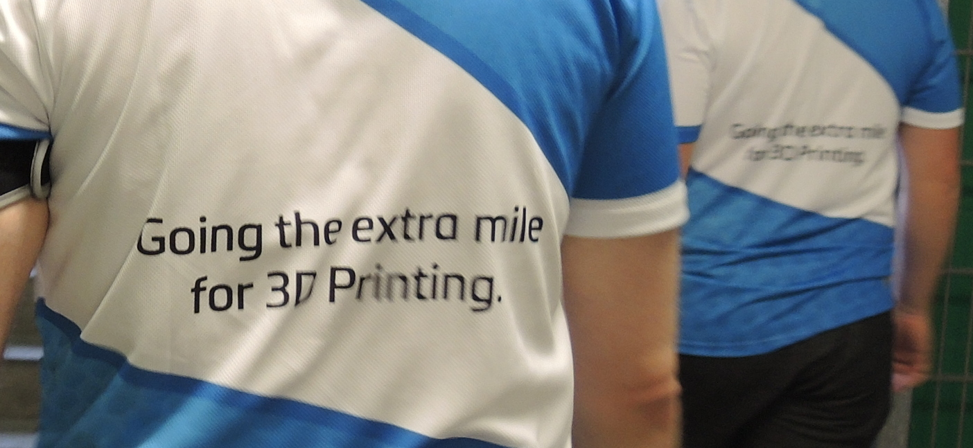 Two Teams, One Goal: Going the Extra Mile for 3D Printing