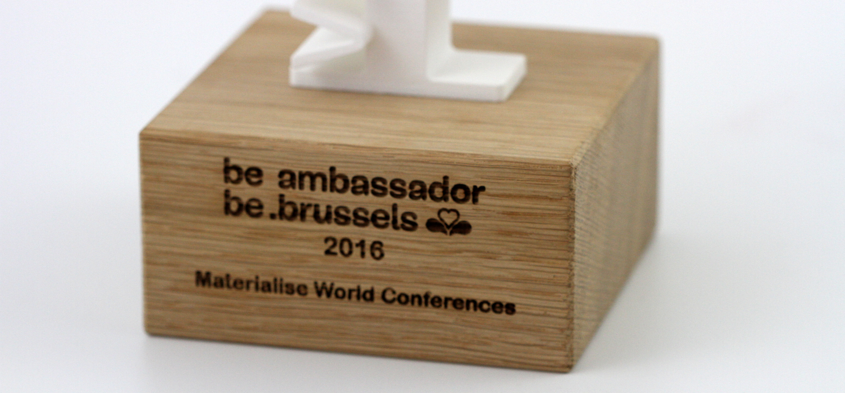 Materialise World Conference Wins Visit.Brussels Ambassador Trophy
