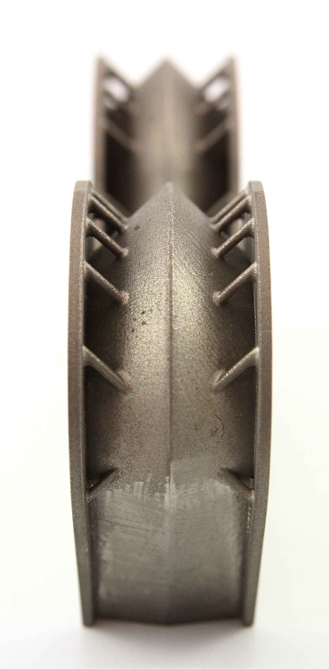 Titanium insert for spacecraft