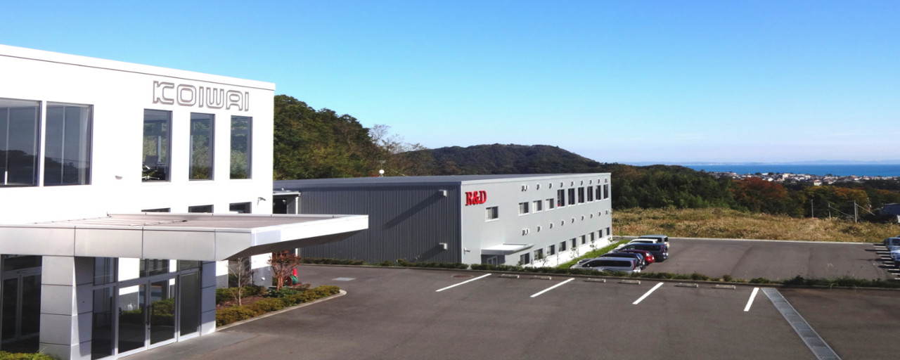 Koiwai's headquarters in Japan
