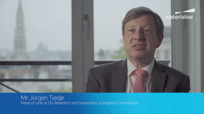 "European Commission Interview: ""Additive Manufacturing Has Great Potential to Bring Better Jobs, More Jobs and Growth to Europe"""