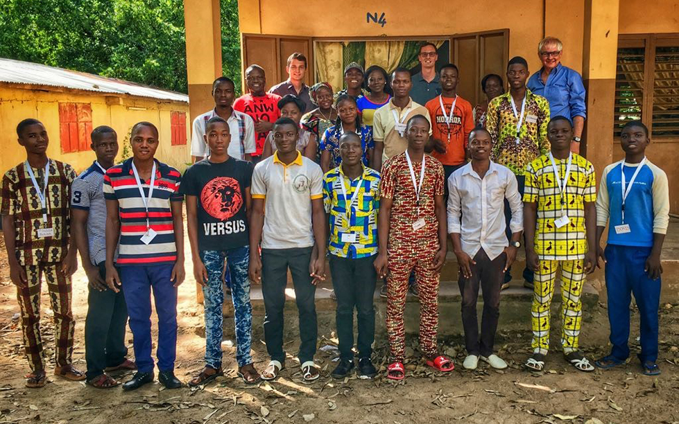 All the students of Benin Summer School 2017