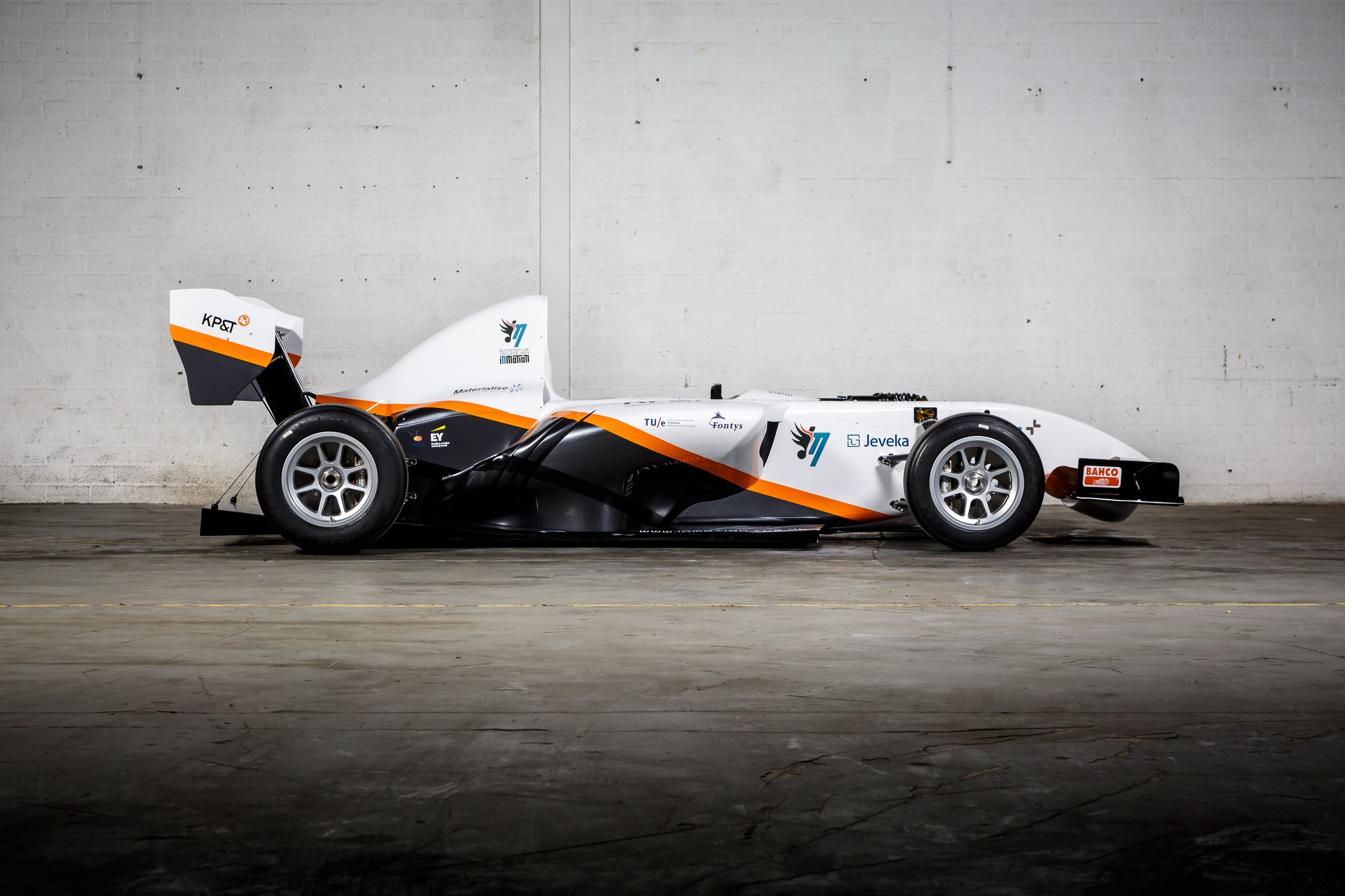 The InMotion electric racecar
