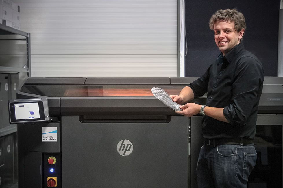 Giovanni Vleminckx, Project Manager in charge of testing HP's new printer