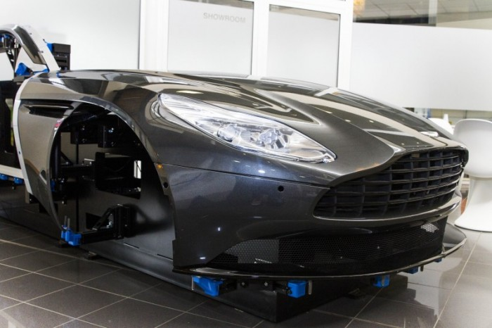 Aston Martin DB11 on the RapidFit SmartCube