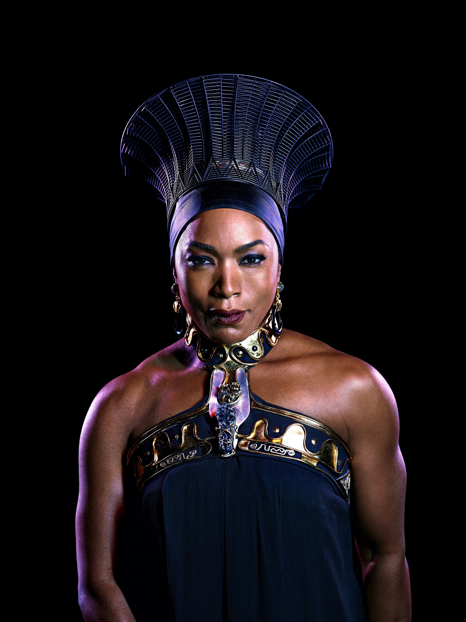Angela Bassett as Queen Ramonda | Image courtesy of Marvel/Disney/Black Panther