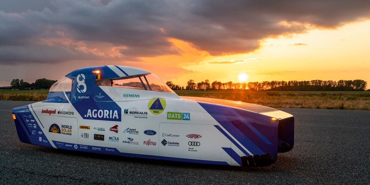 Materialise Helps Drive Agoria Solar Team through the Outback