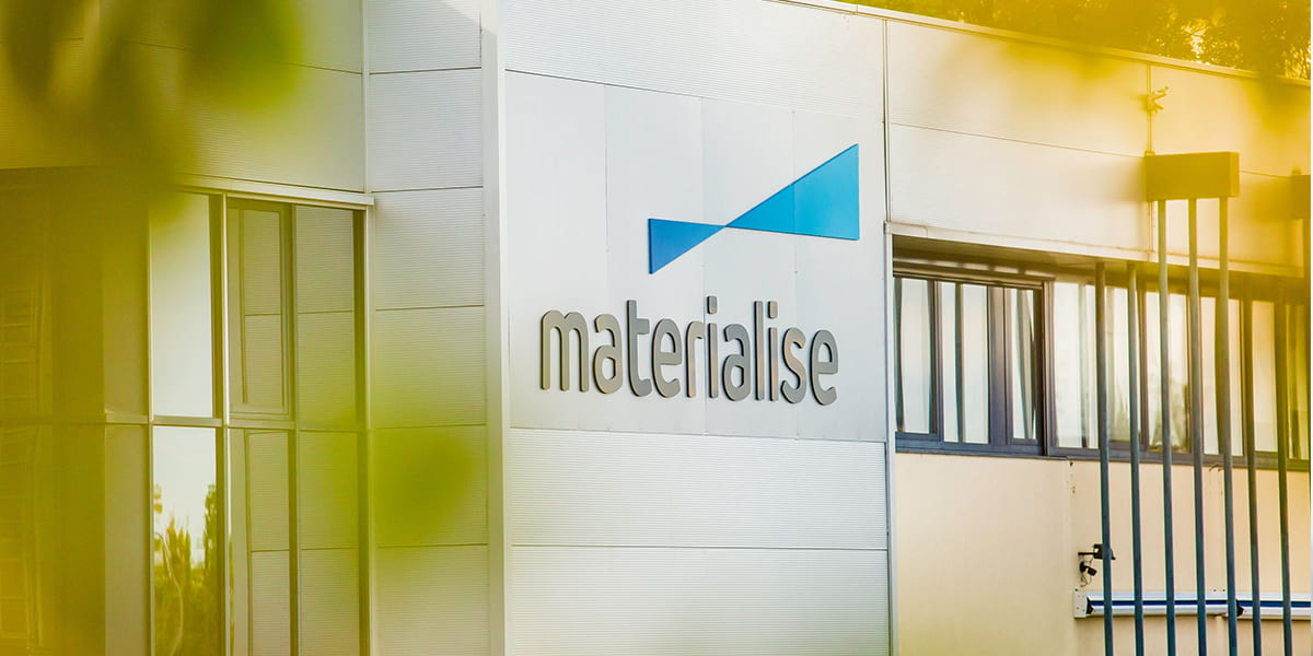 Materialise becoming greener