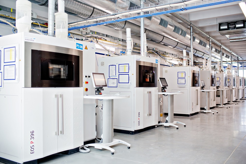 Factory for 3D Printing at Materialise