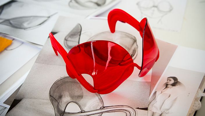3D-Printed Luxury Glasses by Dávid Ring