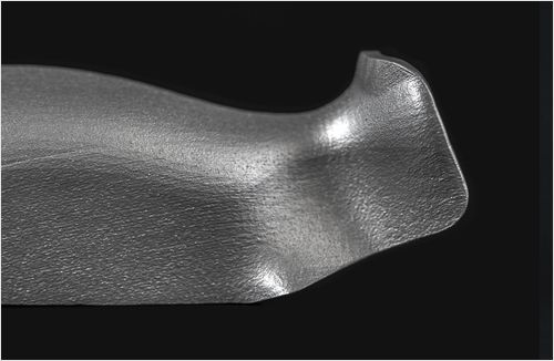 Inconel - Glass Bead-Blasted (Satin)