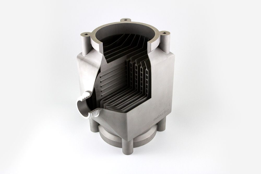Heatsink model (Aluminum)