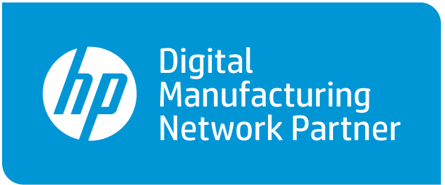 As a proud member of HP's Digital Manufacturing Network, we've been fully qualified by HP and recognized for the excellence of our 3D production and quality processes.