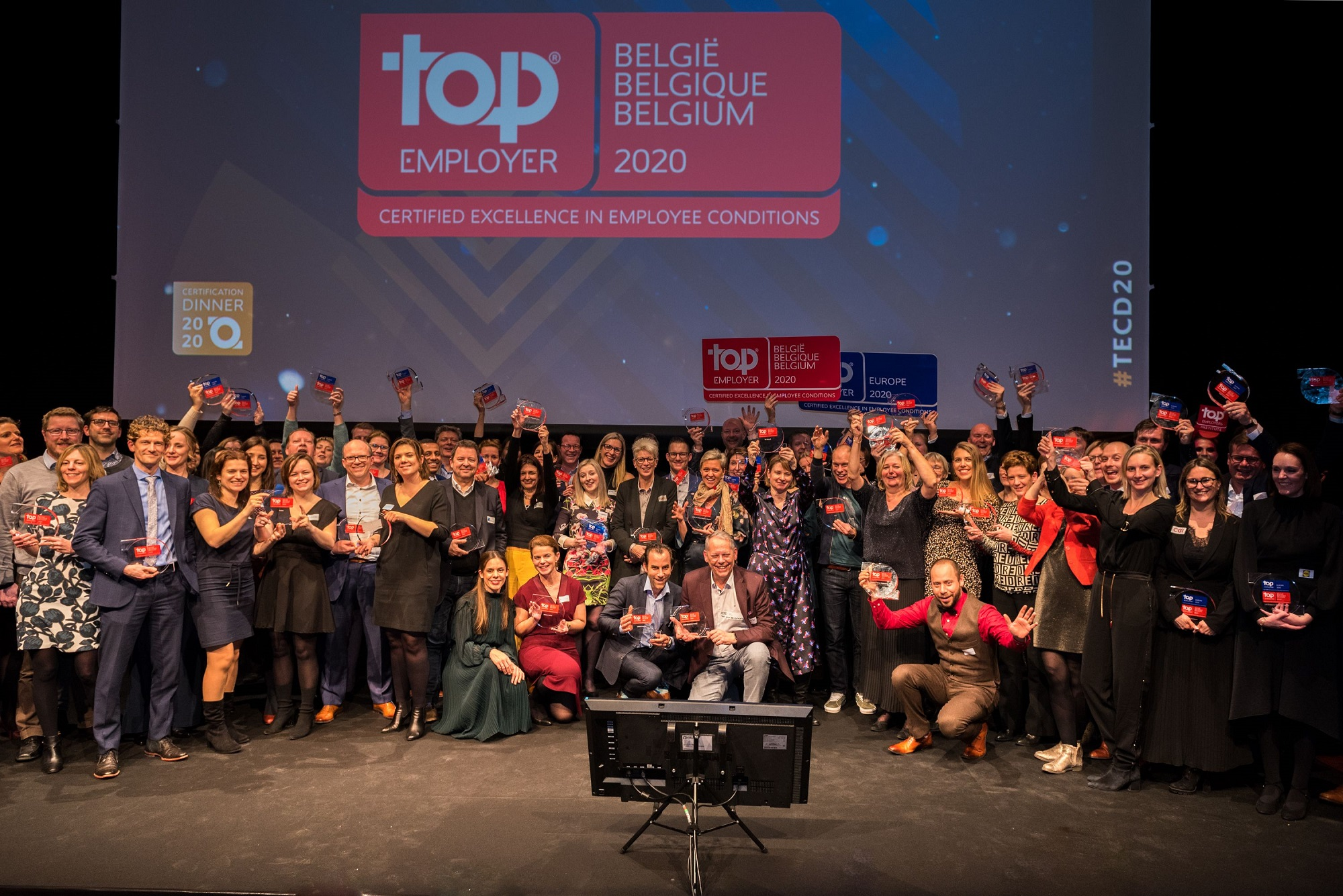 Belgian Top Employers at the Top Employers Belgium Certification Event