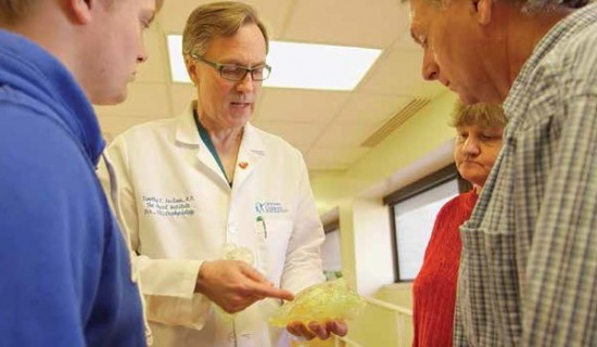 3D-Printed Heart Model Helps 16-Year-Old Heart Tumor Patient