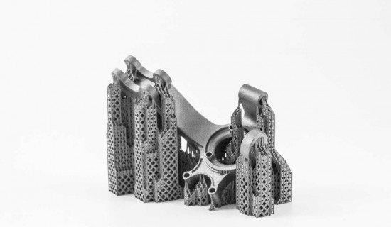 Wheel Knuckle e-Stage for Metal Titanium support structures