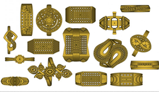 Gold Standard for Jewelry Design with 3D Printing Software