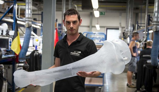 Materialise Prints Life-Size Mammoth Skeleton
