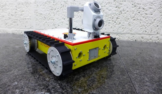 Shell scale model robot