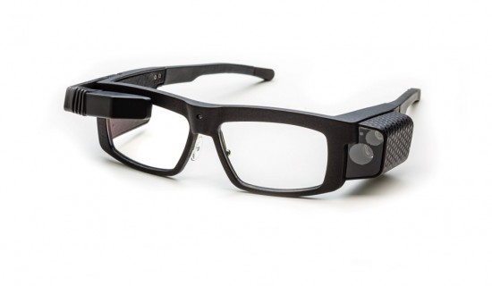 Smart glasses using 3D Printing, designed by Achilles for Iristick