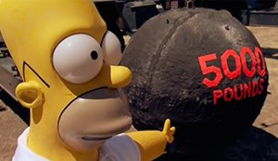 Making Homer Simpson's Head