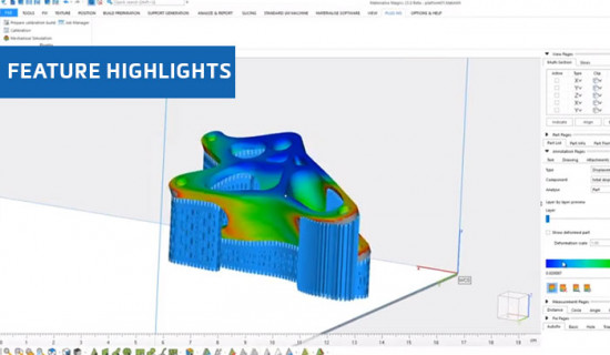 Simulation in Materialise Magics