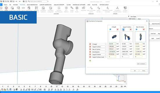 How to use orientation tools in Materialise Magics