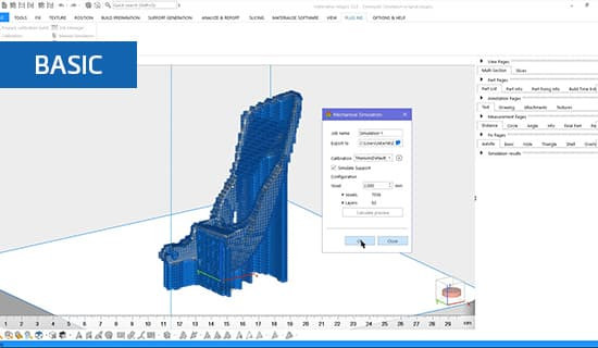 How to prepare and run a simulation in Materialise Magics