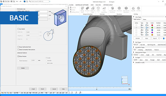 All about the Structures module in Materialise Magics