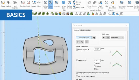 How to edit 3D models in Materialise Magics