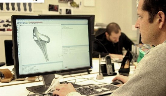 High heel shoe design with the help of Materialise 3-maticSTL software