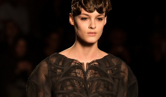 Iris van Herpen Debuts Wearable 3D Printed Pieces at Paris Fashion Week