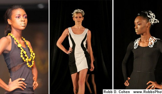 Fashion show with 3D Printed pieces