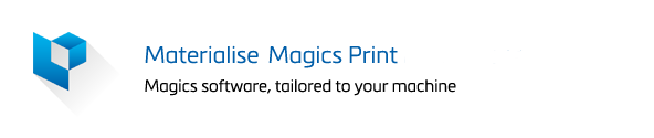 Materialise Magics Print