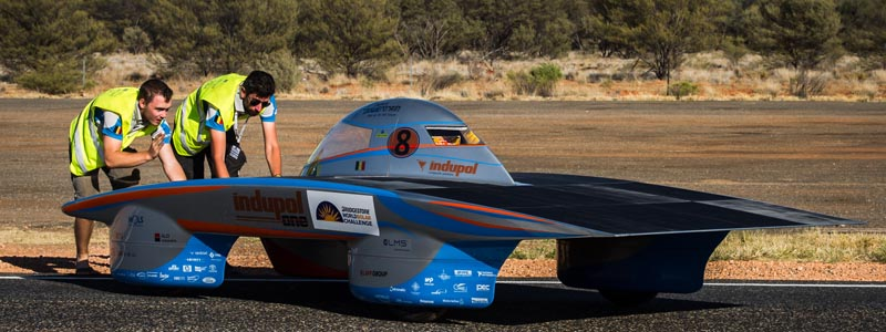 Photo courtesy of Punch Powertrain Solar Team