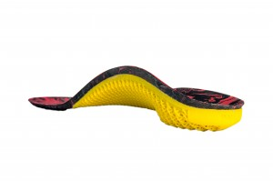 3D Printed insole specifically made for Paula Radcliffe