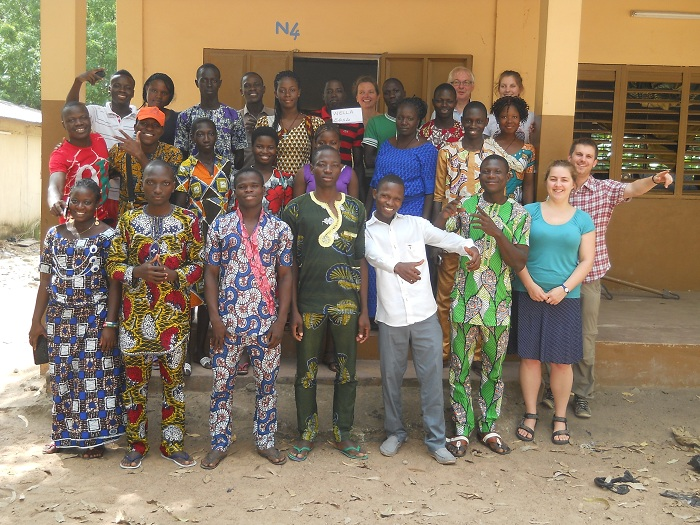 Benin Summer School Students, Ex students Coaches