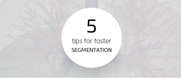 tips for faster segmentation