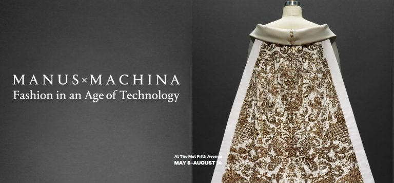 Manus x Machina exhibition poster