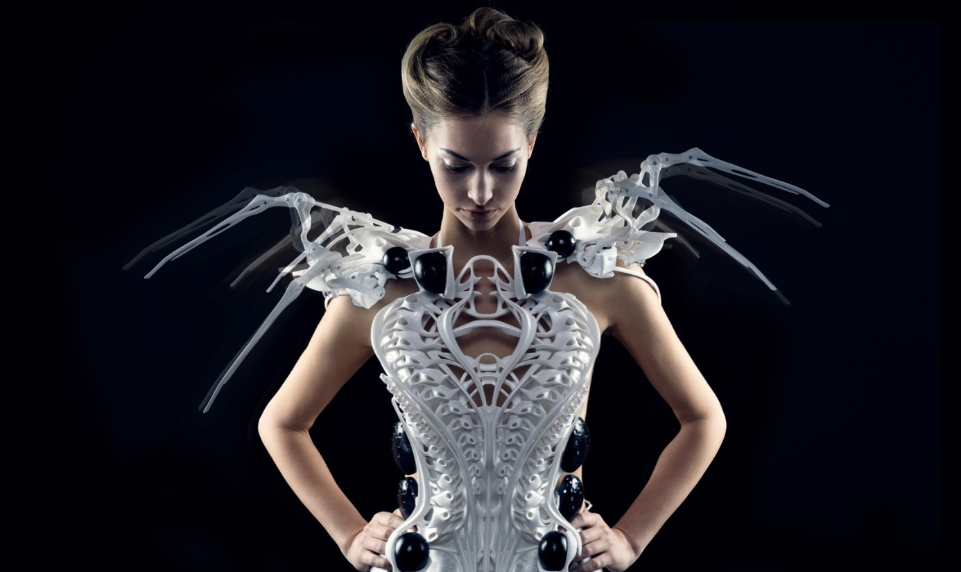 The Intersection of Style and Software: Meet Anouk Wipprecht's 3D-Printed Spider Dress