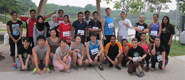 Materialise Malaysia Runs for Benin!