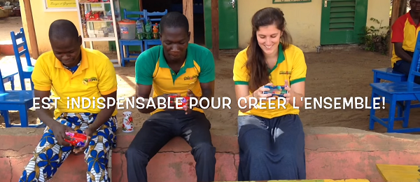 Charlotte's Internship at Materialise: Leading the Baobab Express
