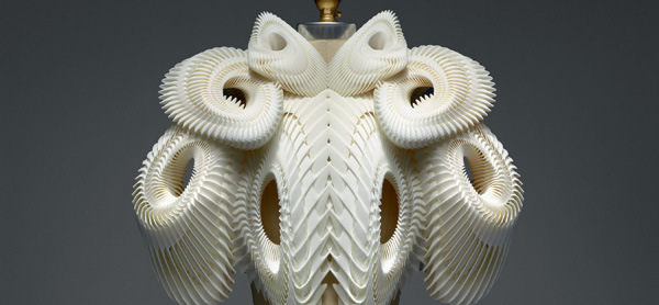 A Closer Look at the Manus x Machina Dresses 3D Printed by Materialise