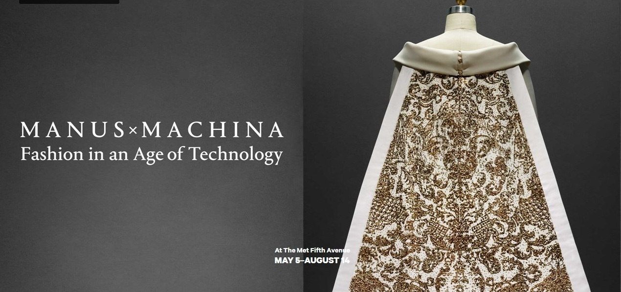 Materialise Featured in Manus x Machina: The Spring 2016 Exhibition at the Metropolitan