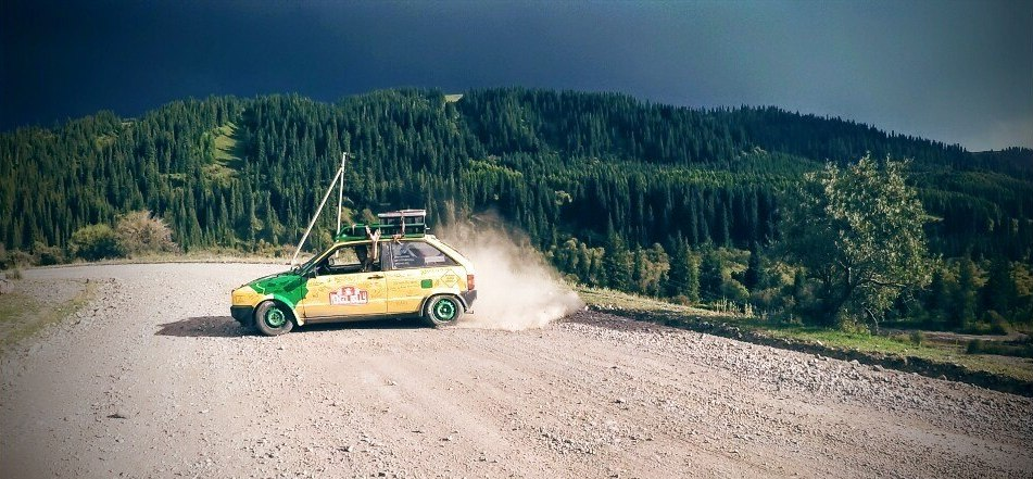 12,141 km from London to Bishkek: Materialise Colleagues Do the Mongol Rally for Charity